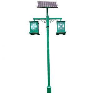 Stalp Iluminat LED si Placa Solara RHZ 11